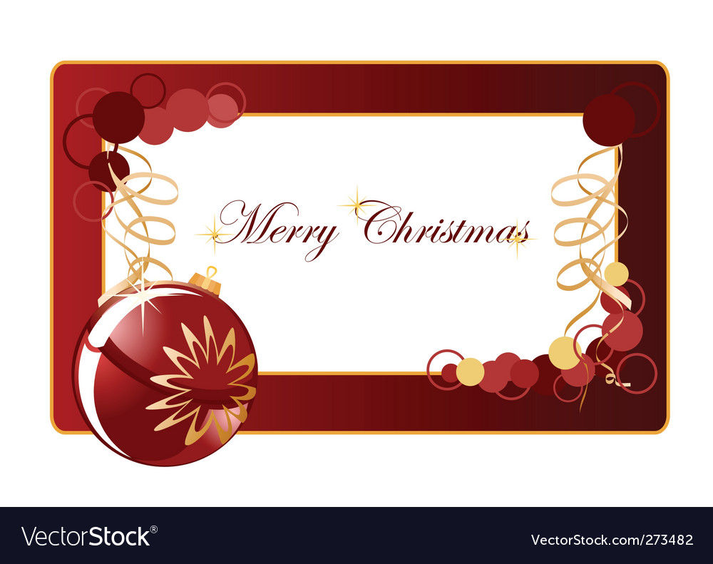 Christmas background blank vector | Price: 1 Credit (USD $1)