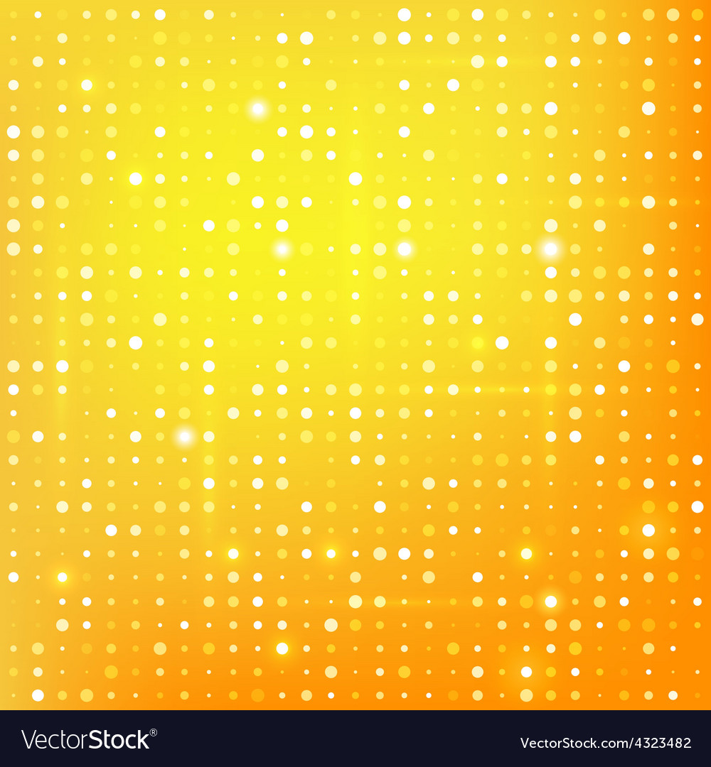 Gold background with dots vector | Price: 1 Credit (USD $1)