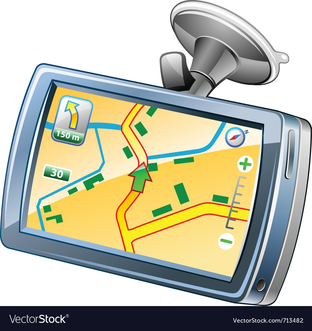 Gps navigation vector | Price: 3 Credit (USD $3)