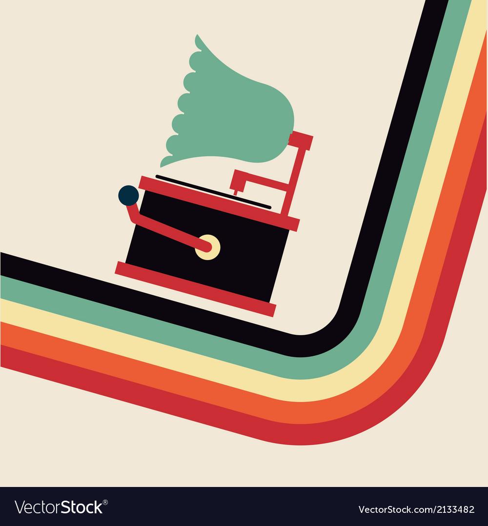 Gramophone vector   Price: 1 Credit (USD $1)