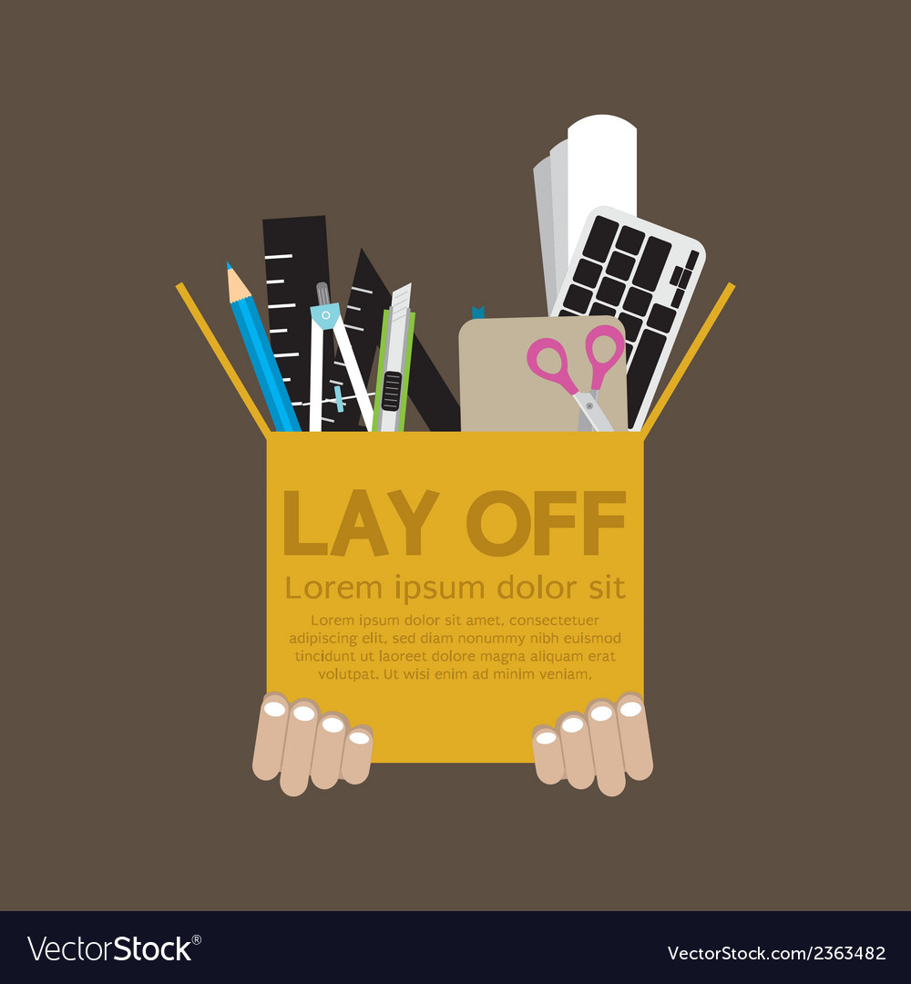 Lay off vector | Price: 1 Credit (USD $1)