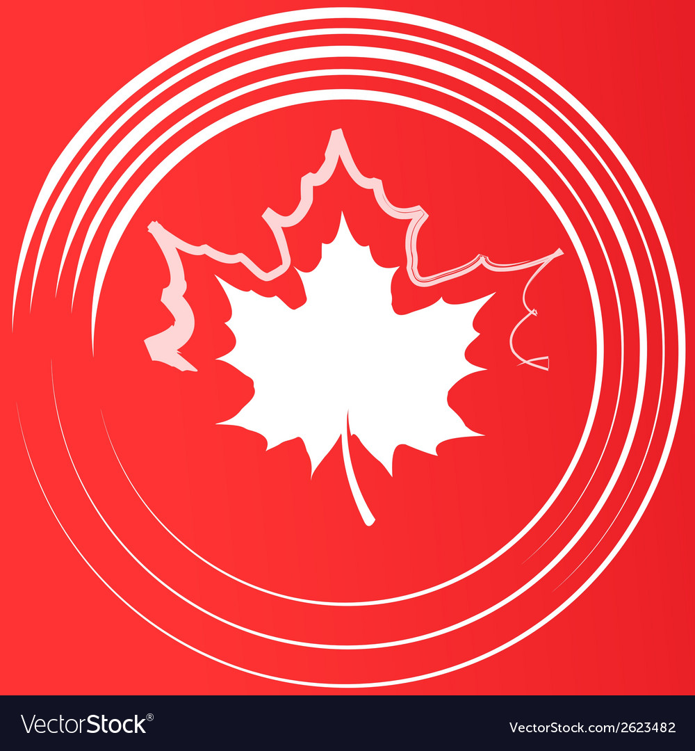 Maple leaf silhouette vector | Price: 1 Credit (USD $1)