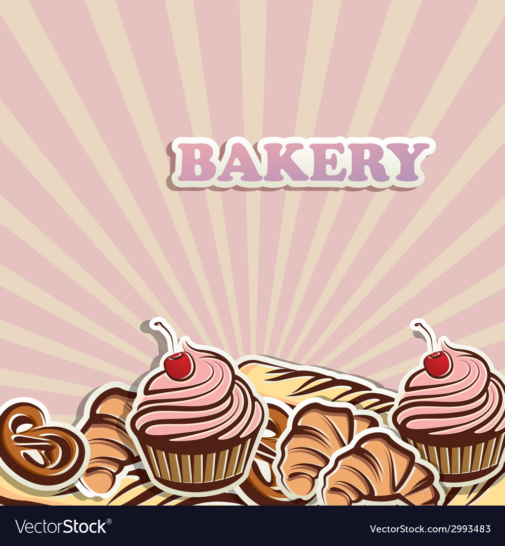 Baking items organic food concept vector | Price: 1 Credit (USD $1)