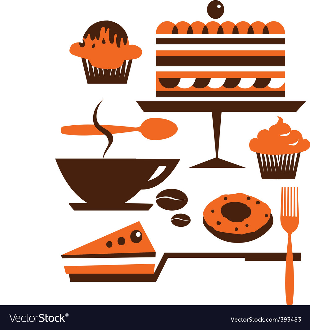 Cakes and pastries vector | Price: 1 Credit (USD $1)