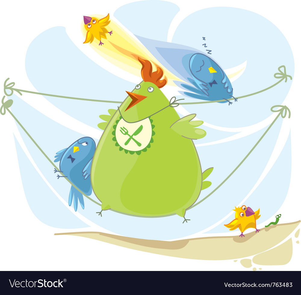 Cartoon birds vector | Price: 5 Credit (USD $5)