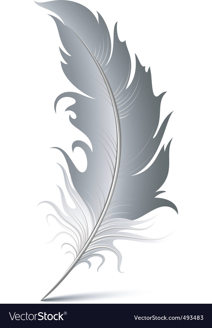 Feather pen vector | Price: 1 Credit (USD $1)