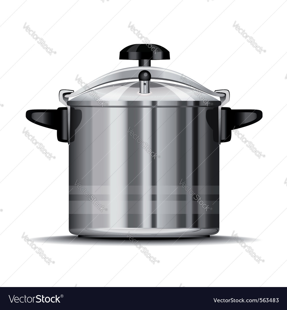 Pressure cooker for cooking vector | Price: 1 Credit (USD $1)