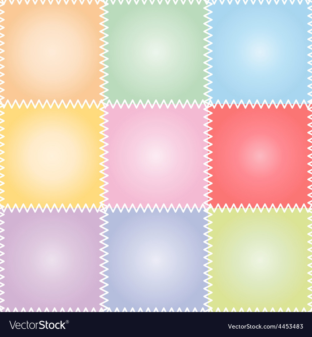 Seamless patchwork or quilt pastel vector | Price: 1 Credit (USD $1)