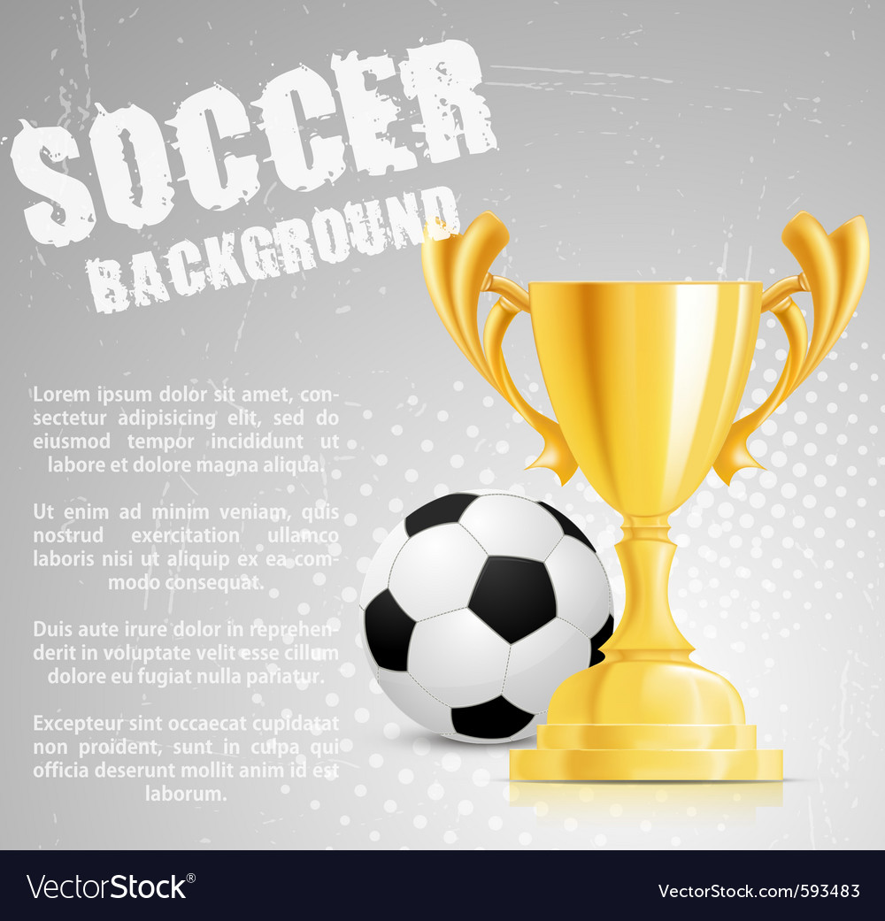 Soccer competition vector | Price: 1 Credit (USD $1)