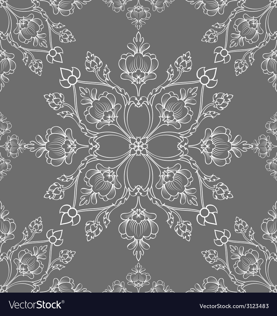 Thai pattern vector | Price: 1 Credit (USD $1)