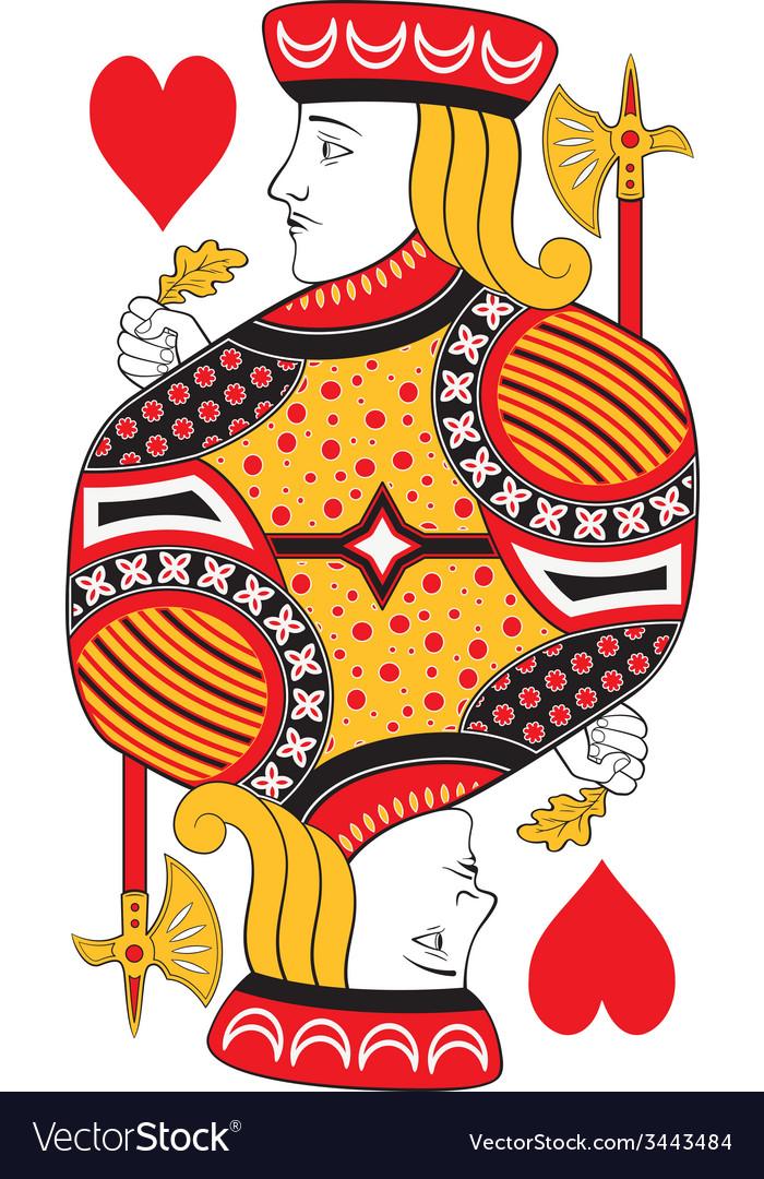 Jack of hearts no card vector | Price: 1 Credit (USD $1)