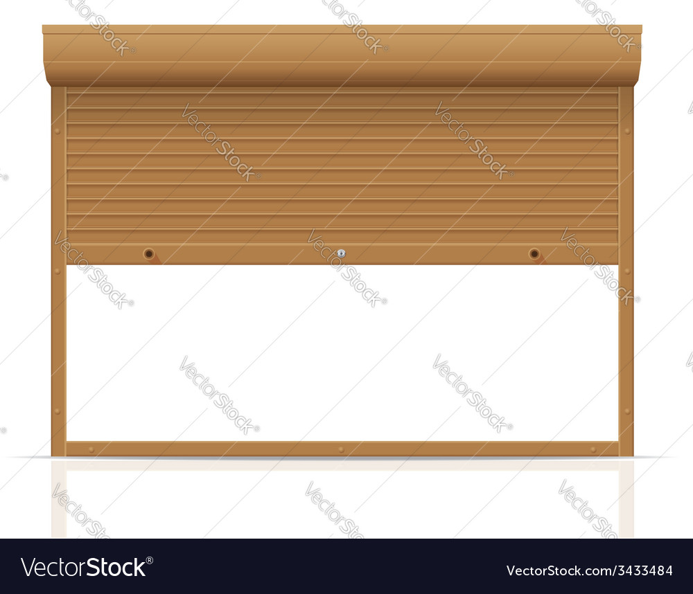 Rolling shutters 14 vector | Price: 1 Credit (USD $1)