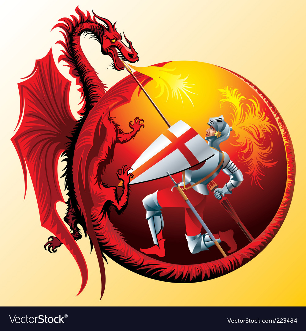 Saint george vector | Price: 3 Credit (USD $3)