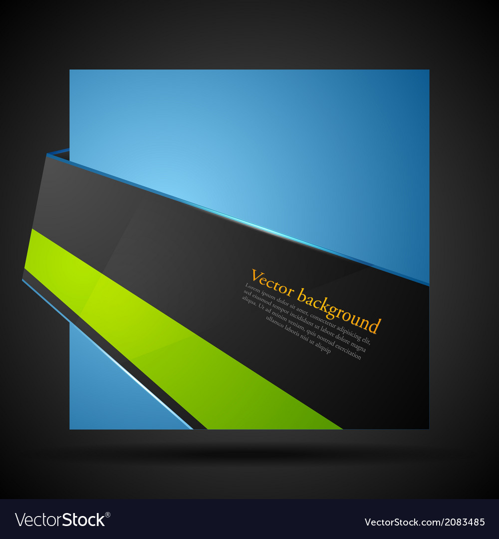 Abstract corporate bright background vector | Price: 1 Credit (USD $1)