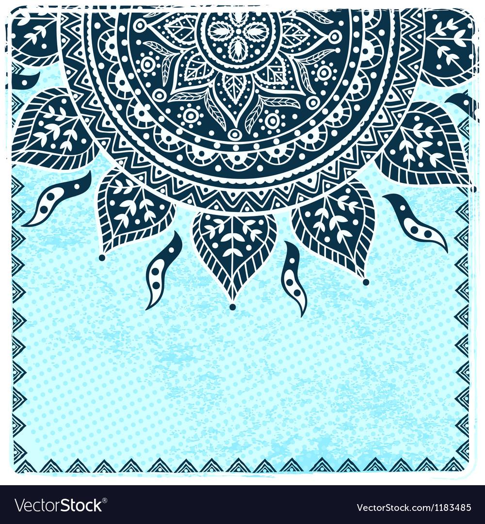 Beautiful ethnic ornament vector   Price: 1 Credit (USD $1)