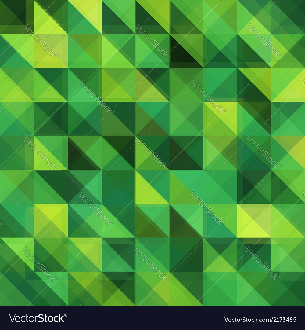 Green triangular grid pattern vector | Price: 1 Credit (USD $1)