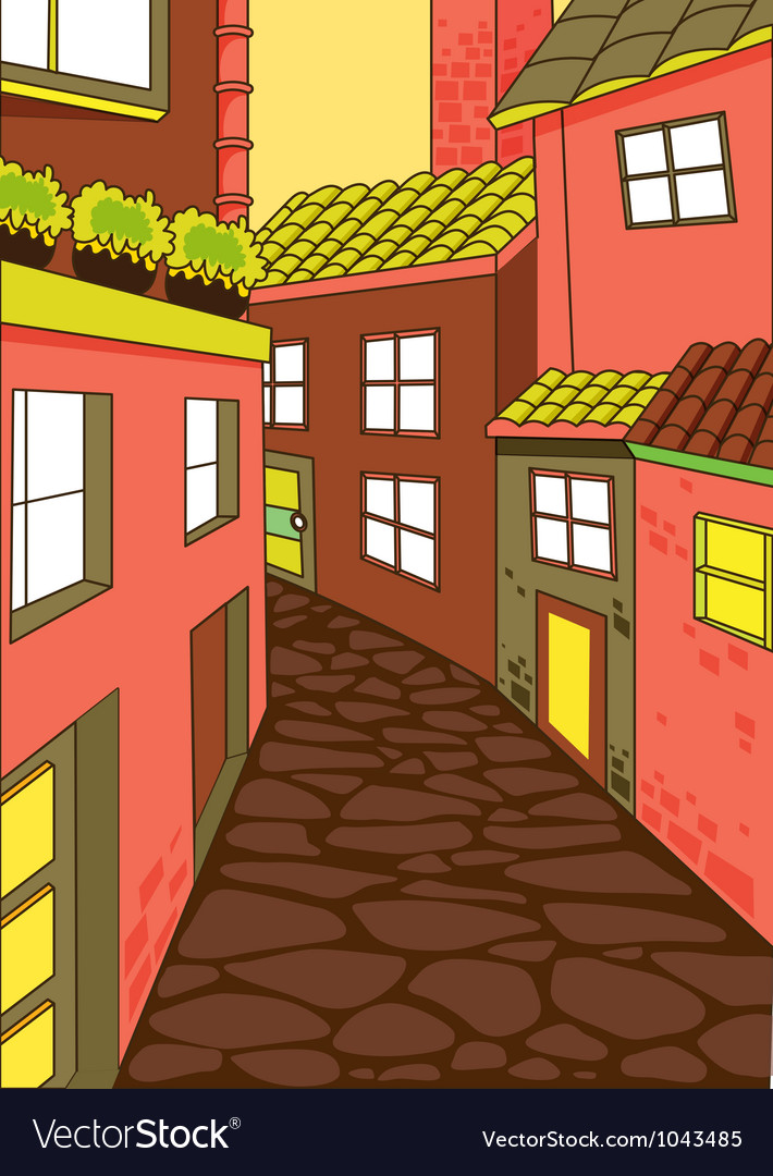 House colony vector | Price: 3 Credit (USD $3)