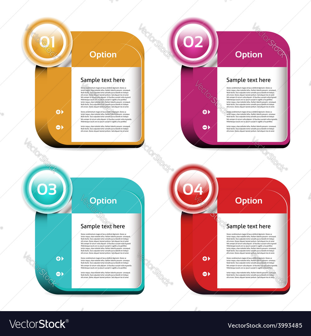 Progress background product choice or version eps vector | Price: 3 Credit (USD $3)