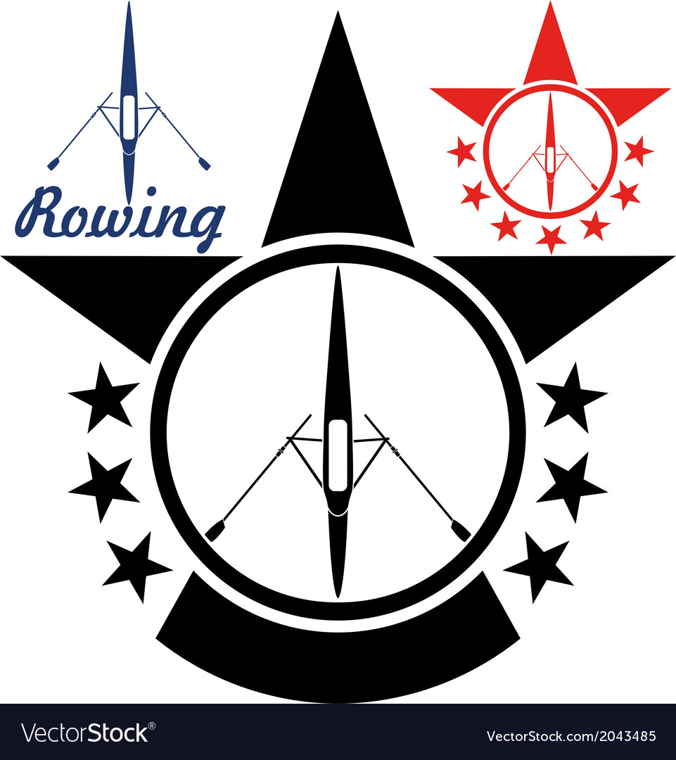 Rowing vector | Price: 1 Credit (USD $1)