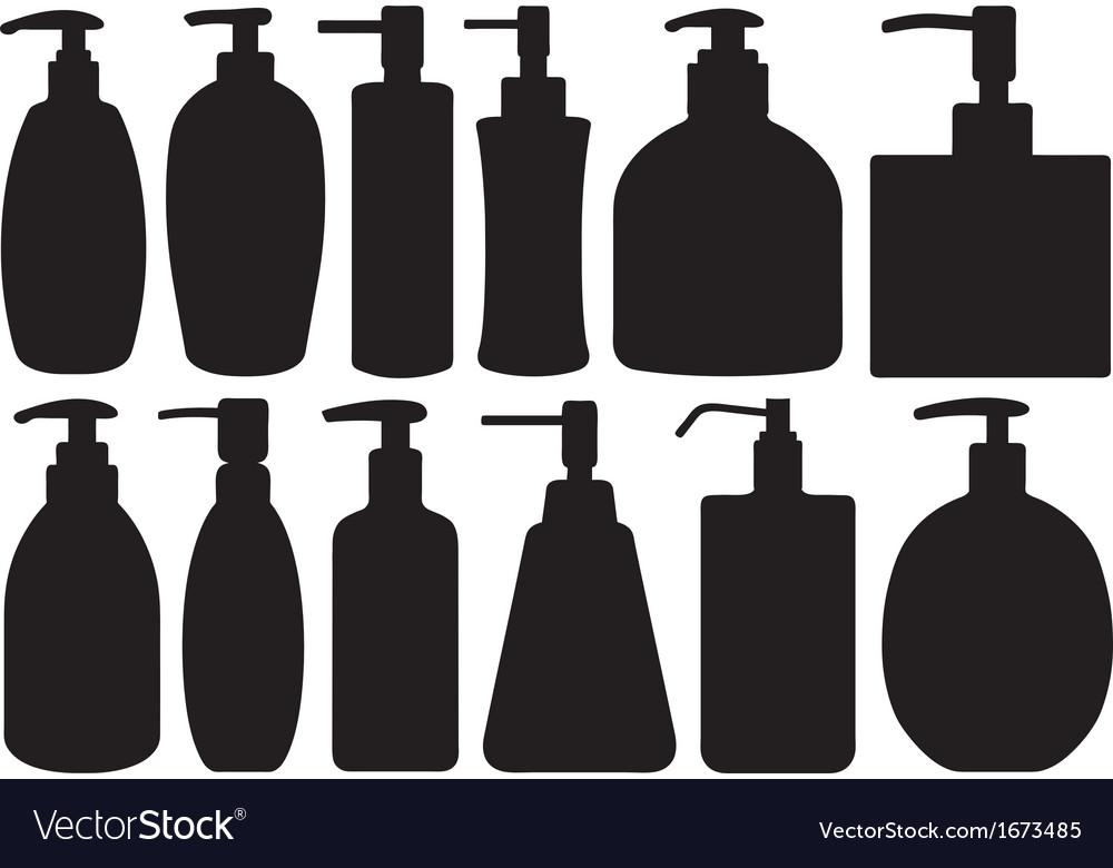 Set of different liquid soaps vector | Price: 1 Credit (USD $1)