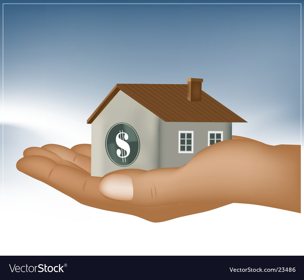 Home loan design vector | Price: 1 Credit (USD $1)