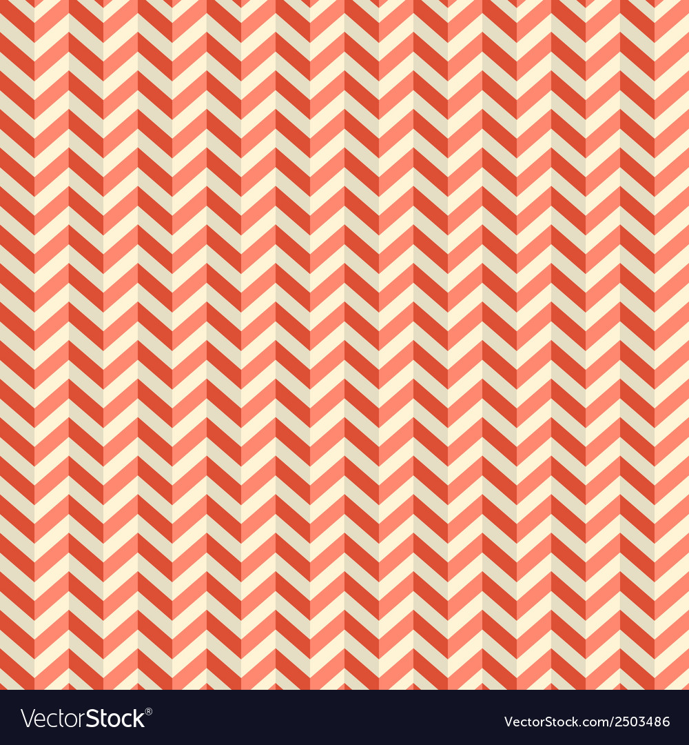 Seamless retro abstract red toothed zig zag paper vector | Price: 1 Credit (USD $1)