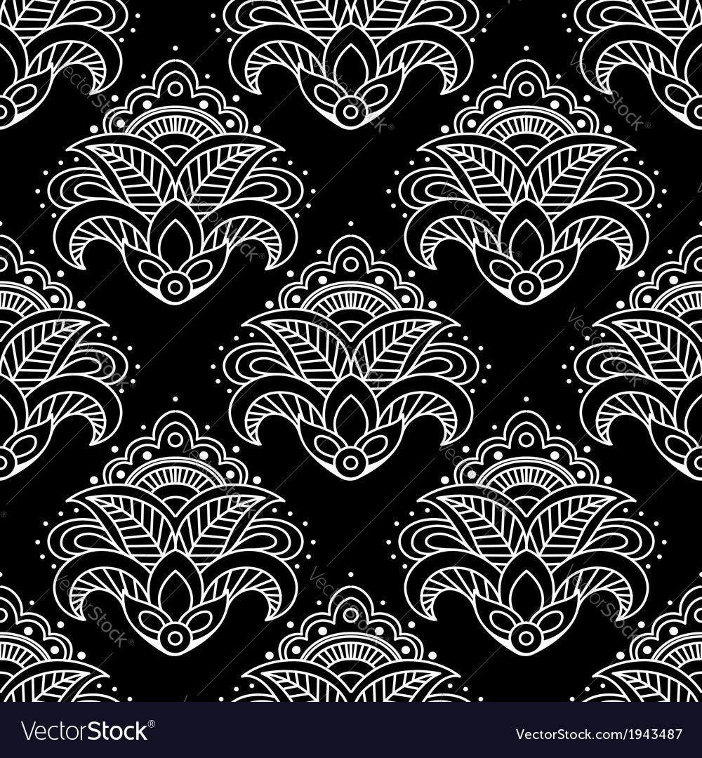 Abstract floral seamless pattern background vector   Price: 1 Credit (USD $1)