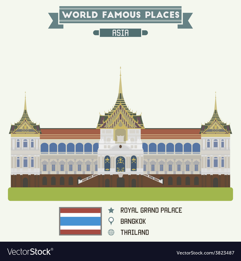 Bangkok vector | Price: 3 Credit (USD $3)