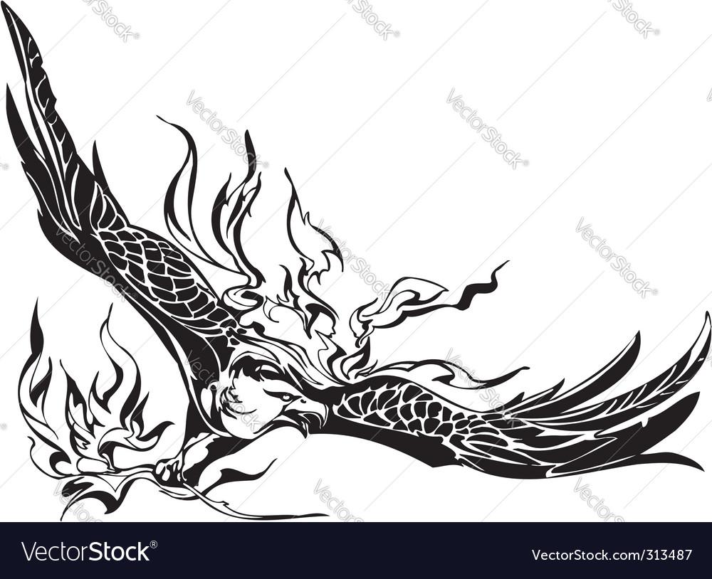Eagle  predatory bird vector | Price: 1 Credit (USD $1)