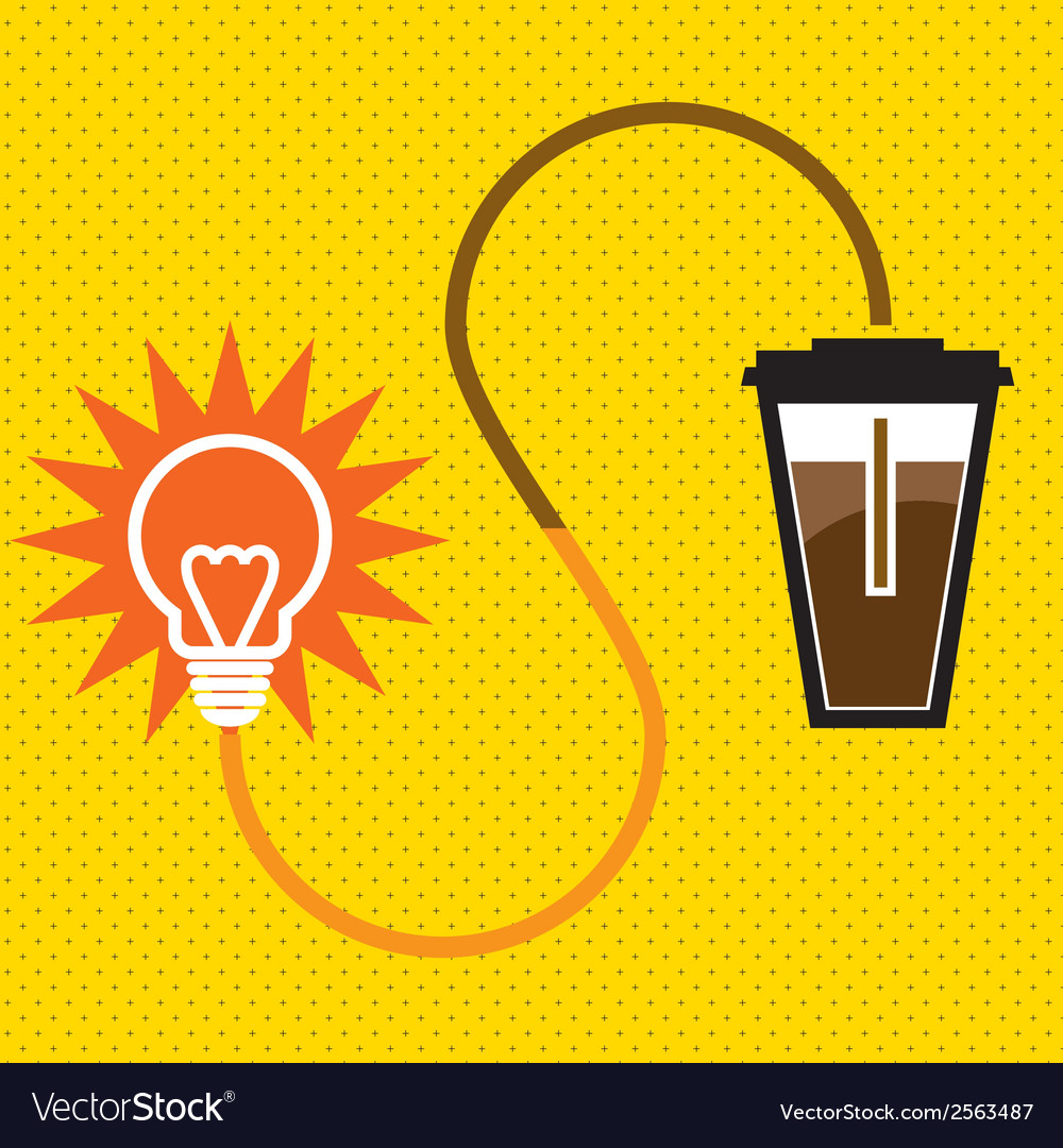 Light-coffee vector | Price: 1 Credit (USD $1)