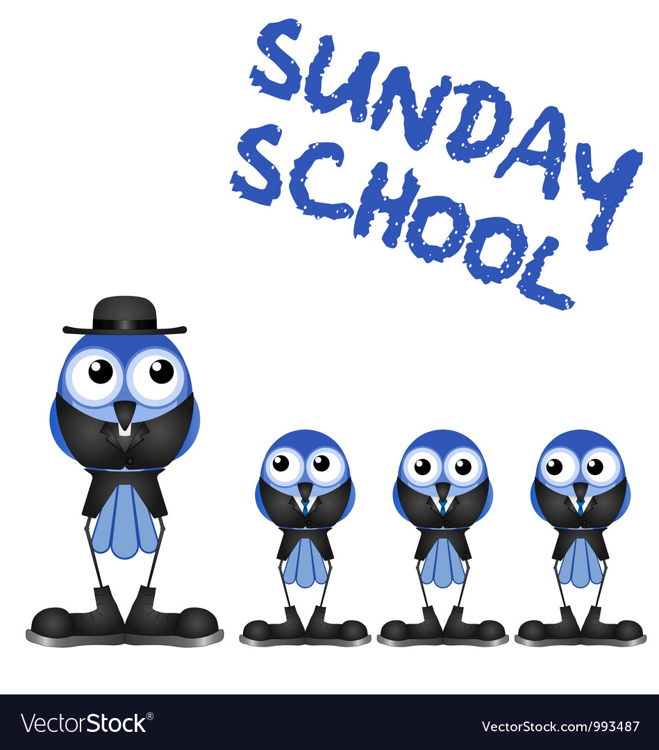 Sunday school vector | Price: 1 Credit (USD $1)