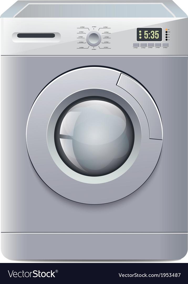 Washing machine vector | Price: 1 Credit (USD $1)