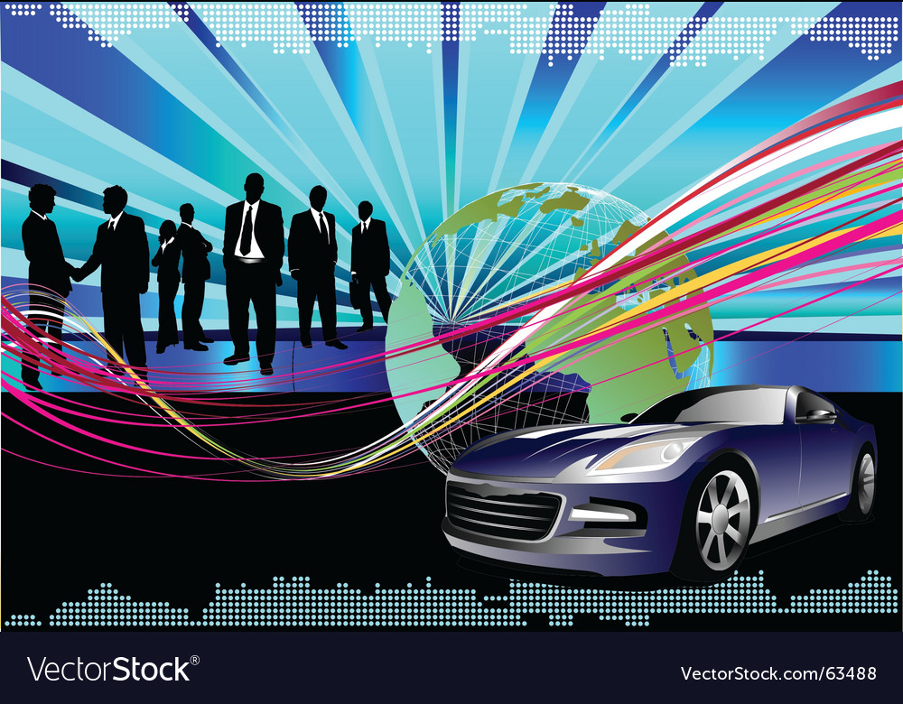 Hi tech background vector | Price: 1 Credit (USD $1)