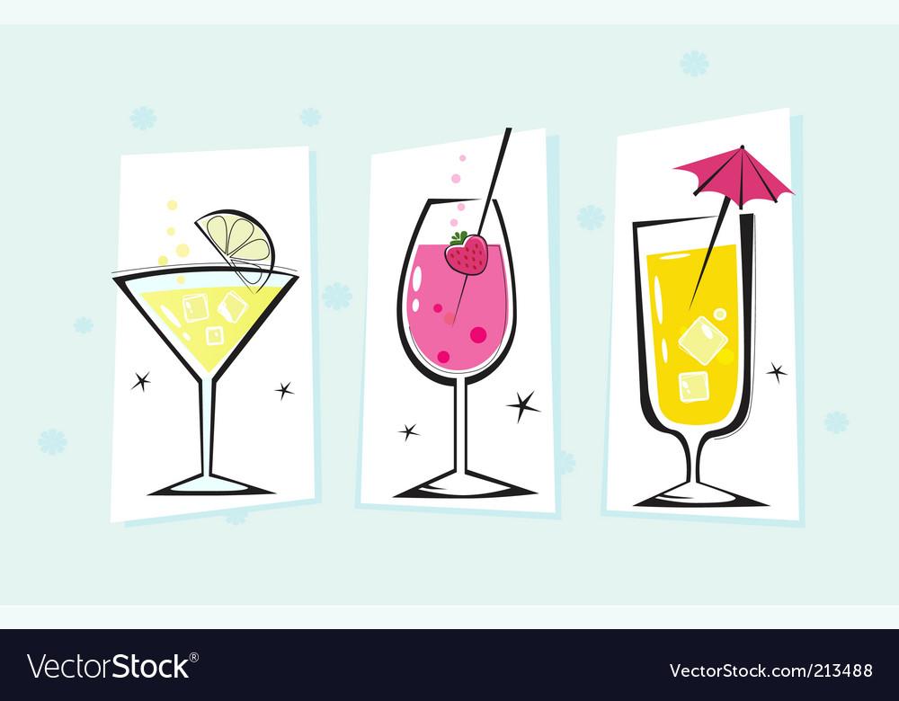 Retro drink vector | Price: 1 Credit (USD $1)