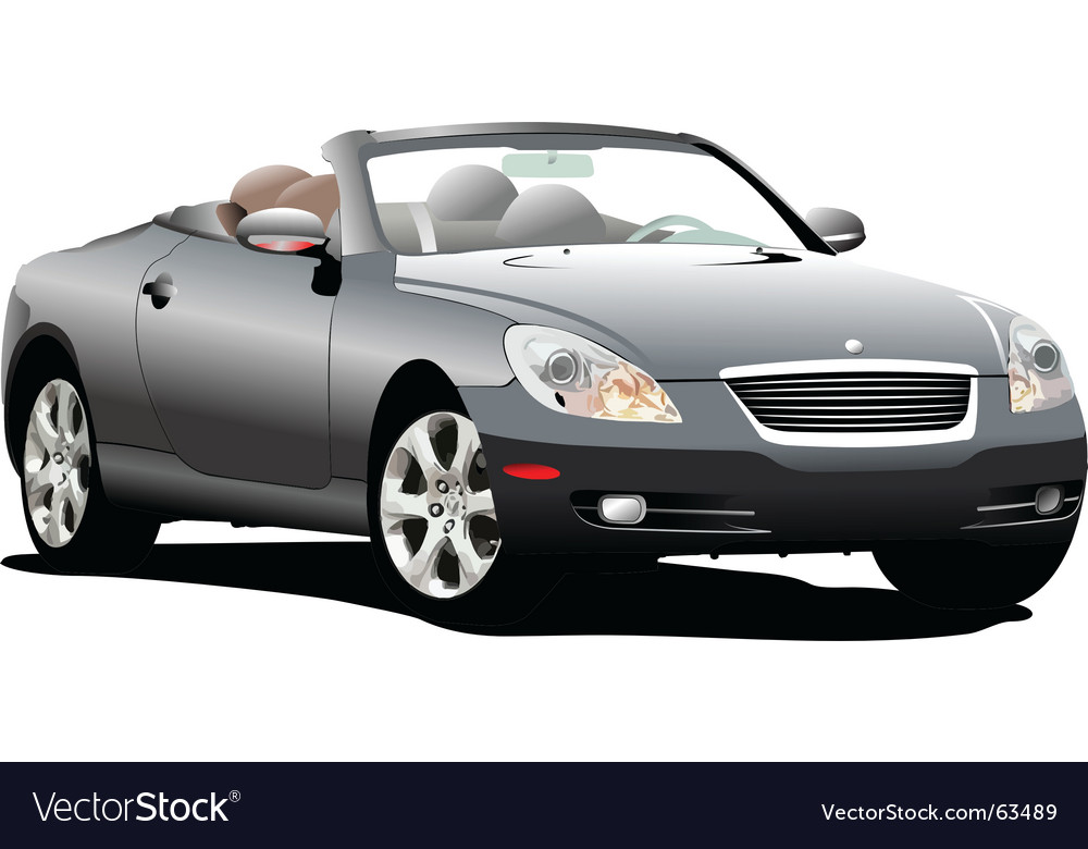 Car cabriolet vector | Price: 1 Credit (USD $1)
