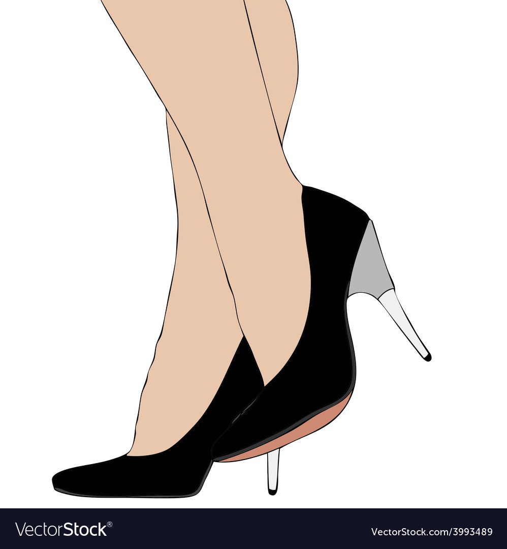 Legs with high heels 007 bis vector   Price: 1 Credit (USD $1)
