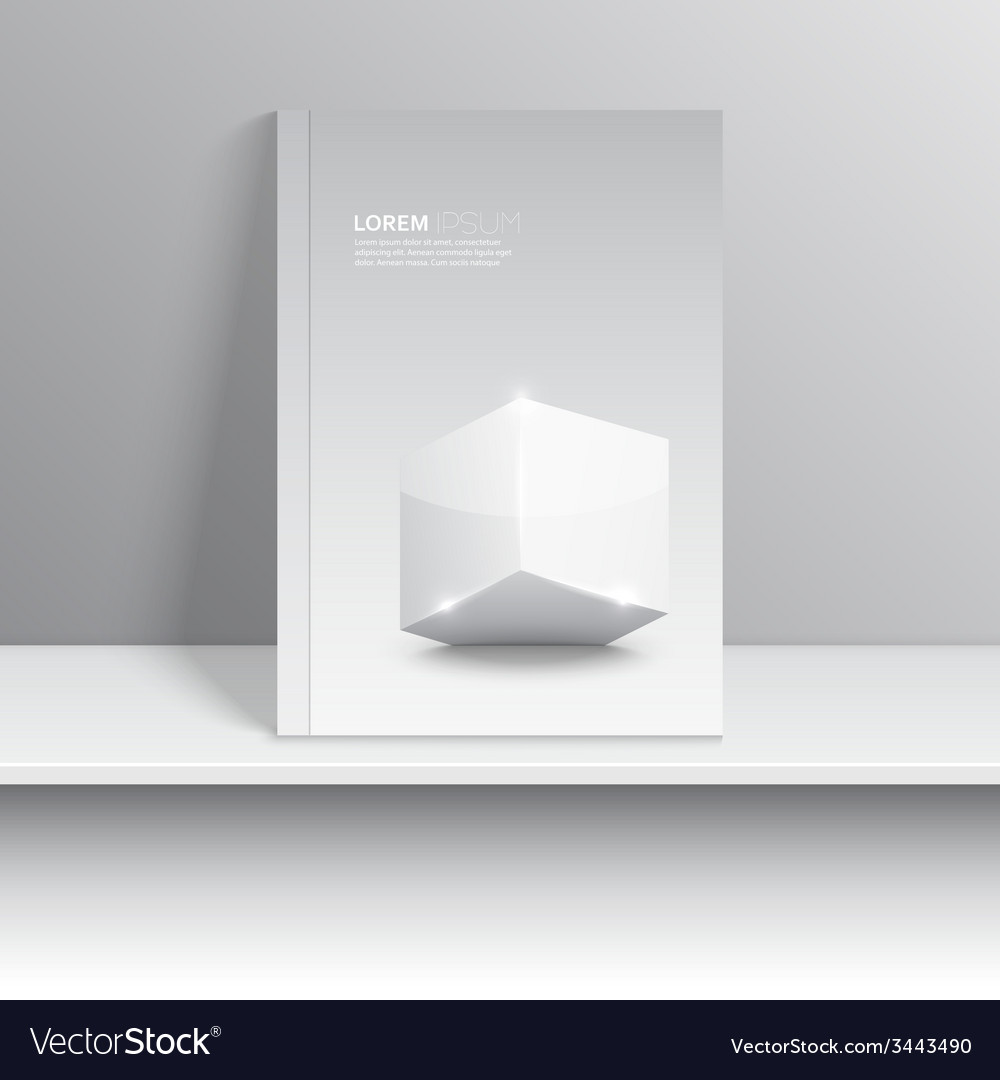 Magazine cover standing on a shelf with gray vector   Price: 1 Credit (USD $1)