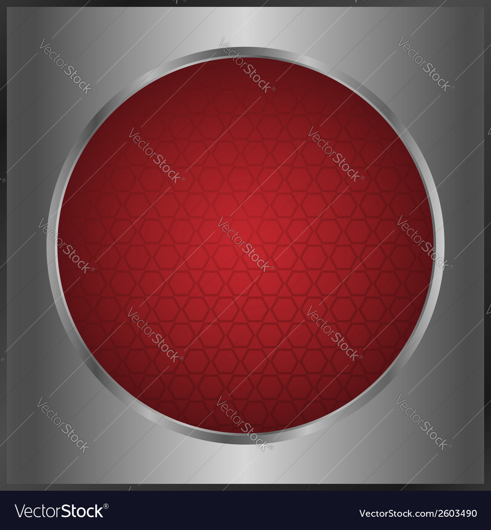 Red button vector | Price: 1 Credit (USD $1)