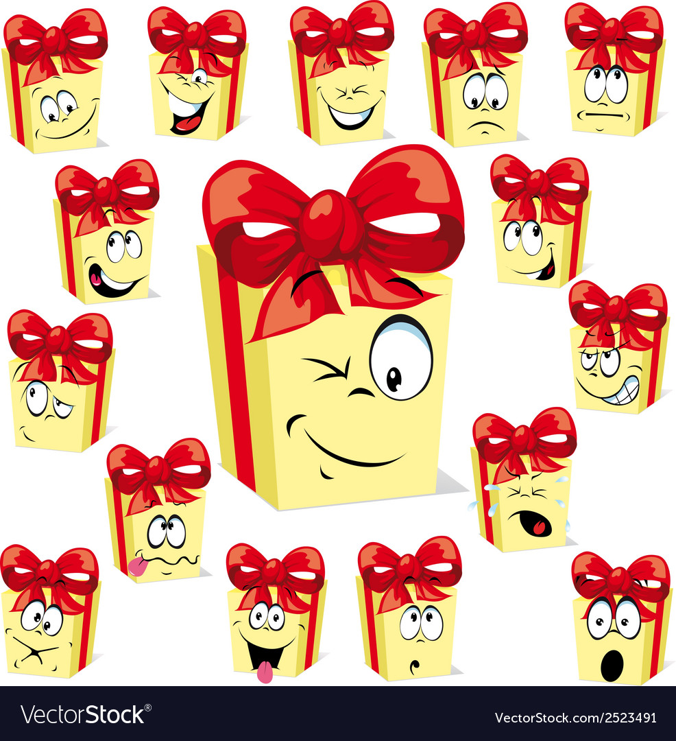 Gift cartoon vector | Price: 1 Credit (USD $1)