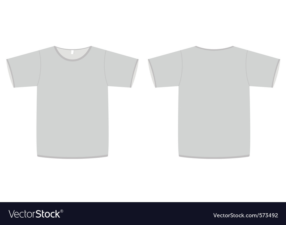 Basic unisex tshirt template vector   Price: 1 Credit (USD $1)