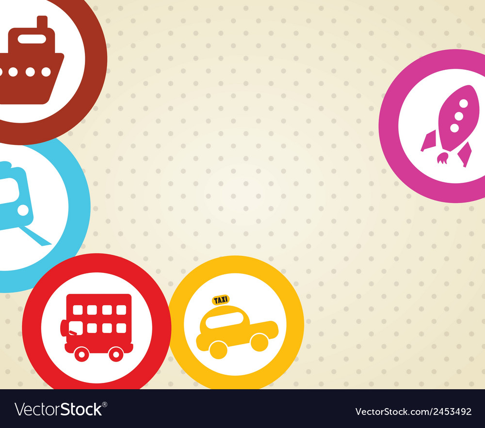 Beach vacations travel vector   Price: 1 Credit (USD $1)