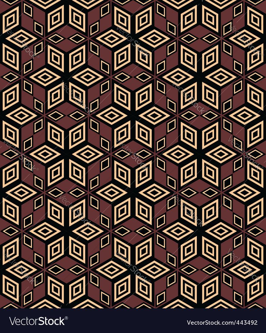 Decorative geometric pattern vector | Price: 1 Credit (USD $1)
