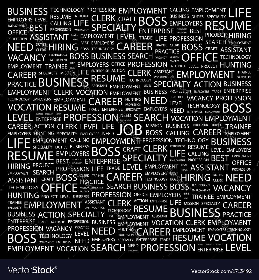 Job vector | Price: 1 Credit (USD $1)