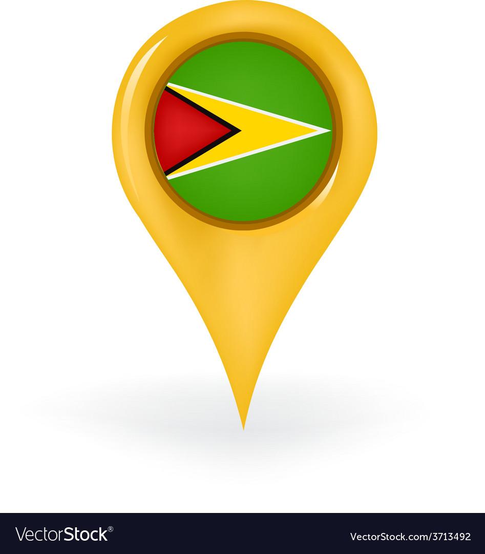 Location guyana vector | Price: 1 Credit (USD $1)