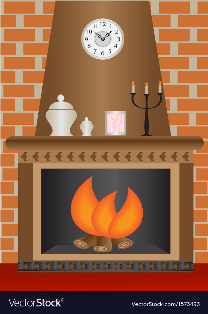 Fireplace vector   Price: 1 Credit (USD $1)