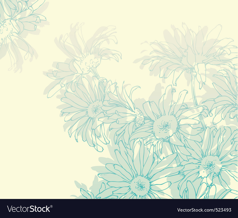 Gentle daisy vector | Price: 1 Credit (USD $1)