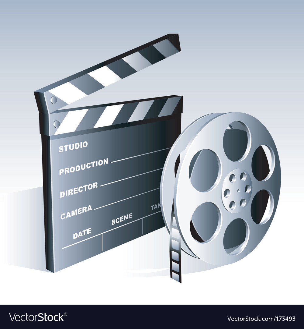 Movie symbols vector