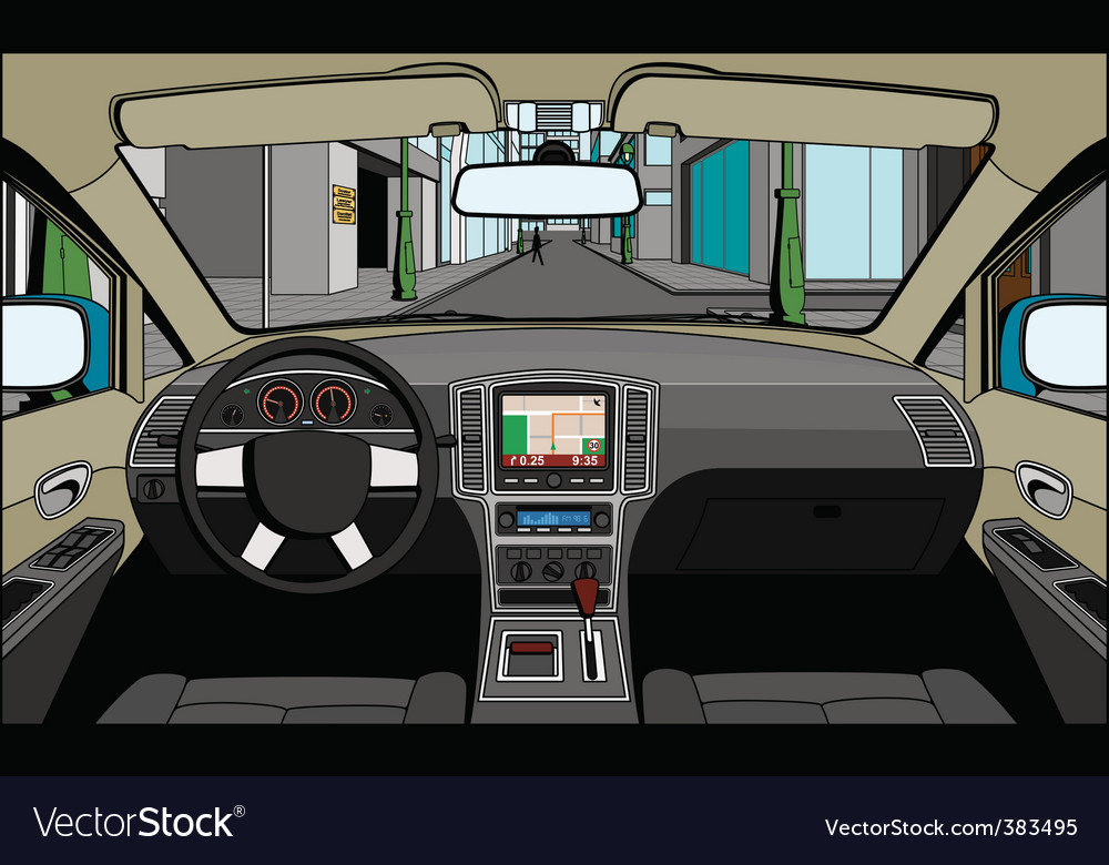 View of the driver vector | Price: 3 Credit (USD $3)