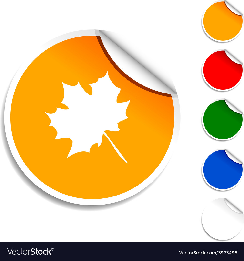 Autumn icon vector | Price: 1 Credit (USD $1)