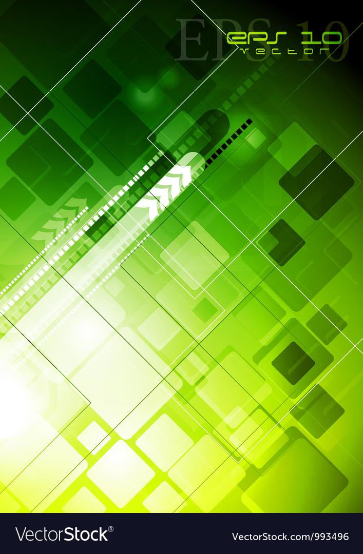 Bright green technology design vector   Price: 1 Credit (USD $1)